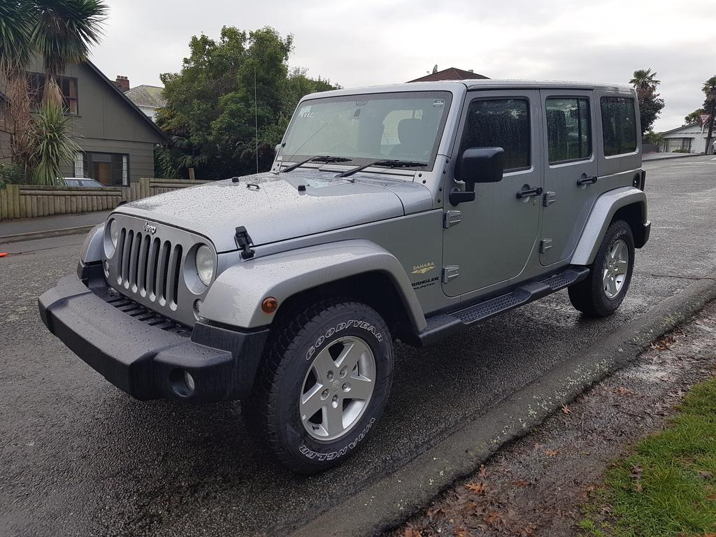 Jeep Wrangler 4-Door Overland